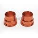 Orange Front Wheel Spacers - FWS502