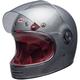 Gloss Silver Flake Bullitt Helmet
