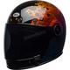 Hart-Luck Gloss Metallic Bubbles Bullitt SE Helmet