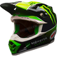 Black/Green/White Moto-9 MIPS Tomac Replica 17.2 Helmet