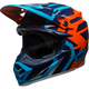 Blue/Orange Moto-9 MIPS District Helmet