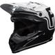 Matte Black/White Moto-9 MIPS Fasthouse Helmet