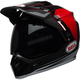 Black/Red/White MX-9 Adventure MIPS Berm Helmet