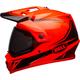 Hi-Viz Orange/Black MX-9 Adventure MIPS Torch Helmet