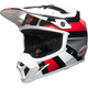 White/Black/Red MX-9 MIPS Marauder Helmet