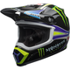 Black/Green MX-9 MIPS Pro Circuit Replica 18.0 Helmet