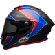 Red/Blue/Matte Carbon Pro Star Sector Helmet