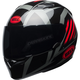 Black/Red/Titanium Qualifier Blaze Helmet