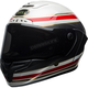 Matte White/Red/Carbon Race Star RSD Formula Helmet