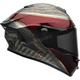 Candy Red/Gold Star MIPS Blast Helmet