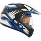 Blue Quest RSV Rocket Snow Helmet w/Electric Shield