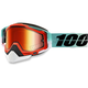 Racecraft Cubica Snow Goggle w/Dual Mirror Red Lens - 50113-222-02