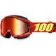 Accuri Saarinen Snow Goggles w/Dual Red Mirror Lens - 50213-203-02