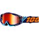 Racecraft Calculus Navy Goggles w/Mirror Red Lens  - 50110-217-02