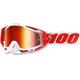 Racecraft Bilal Goggles w/Mirror Red Lens - 50110-219-02