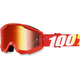 Strata Junior Furnace Goggles w/Mirror Red Lens - 50510-232-02