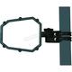 Elite Series UTV Side Mirror w/ Dual Axis Breakaway - 0640-1194