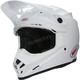 White Moto-9 MIPS Helmet