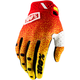 Red/Yellow Ridefit Gloves