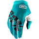 Youth Teal I-Track Gloves