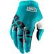 Teal I-Track Gloves