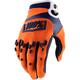 Orange/Navy Airmatic Gloves