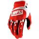 Red/White Airmatic Gloves