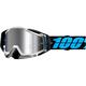 Racecraft Plus Daffed Goggles w/Silver Mirror Lens - 50120-108-02