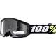 Strata Youth Mini Grom Black Goggle w/Clear Lnes - 50600-001-02