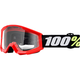 Strata Youth Mini Grom Red Goggle w/Clear Lens - 50600-003-02