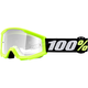 Strata Youth Mini Grom Yellow Goggle w/Clear Lens - 50600-004-02