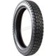 Front or Rear HF308 3.50-19 Blackwall Tire - 25-30819-350BTT