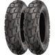 Rear SR426 130/90-10 Blackwall Tire - 87-4191