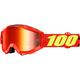 Accuri Junior Saarinen Goggles w/Mirror Red Lens - 50310-203-02