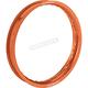 Orange 21x1.60 Aluminum Front Rim for Beta - 0210-0325