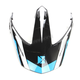 Blue Replacement Visor for Quest RSV Rocket Helmets - 508600#