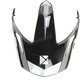 Gray Replacement Visor for Quest RSV Rocket Helmets - 508602#