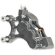 Chrome Front Left Ness-Tech Six-Piston Differential Bore Caliper - 02-210