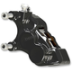 Black Front Left Ness-Tech Four-Piston Caliper - 02-221