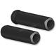 Black Fusion Dual Ring Grips - 07-308