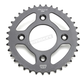 Induction Hardened Black Zinc Finished Rear Sprocket - JTR1213.37ZB