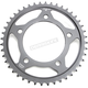 Induction Hardened Black Zinc Finished 525 44 Tooth Rear Sprocket - JTR1304.44ZB