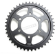Induction Hardened Black Zinc Finished Rear Sprocket - JTR1489.43ZB
