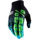 Celium 2 Flash Black/Cyan Gloves