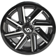 Front/Rear Chopper Machined Wheel - 570-1282
