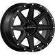 Black Front/Rear Hostage Raceline 14x7 Wheel - 570-1622