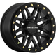 Black Front/Rear Ryno Beadlock Raceline 15x7 Wheel - 570-1603