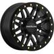 Black Front/Rear Ryno Beadlock Raceline 15x7 Wheel - 570-1604