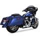 Chrome  Rayzer 2-Into-1 Exhaust System - 1800-2193