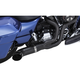 Matte Black Rayzer 2-Into-1 Exhaust System - 1800-2194